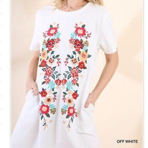 🎉NEW ARRIVAL pocket Tee Dress